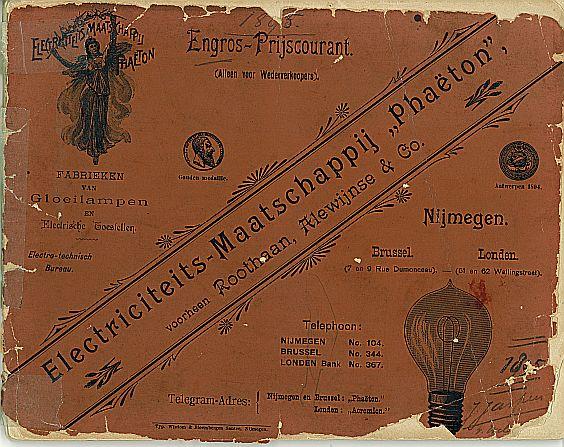 Alewijnse prijscourant 1895