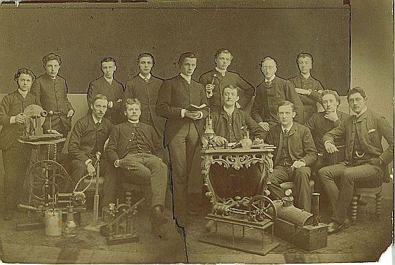 Vereniging Volta rond 1900