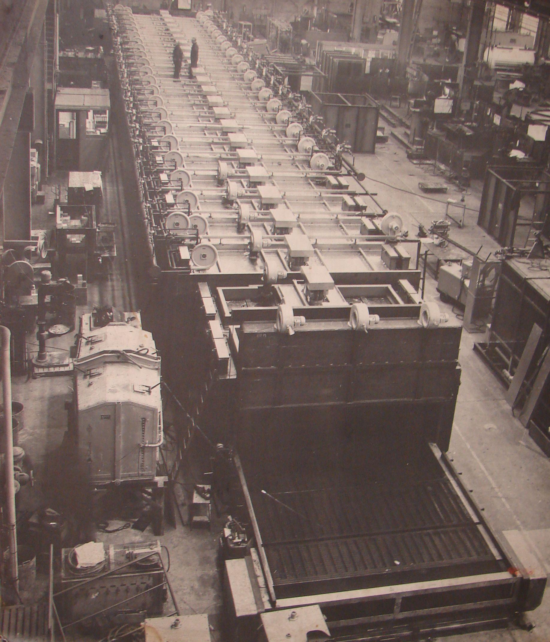 Fabricage van tunnelovens voor thermische behandeling van ...