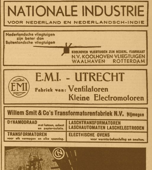 Advertentie 09-04-1937