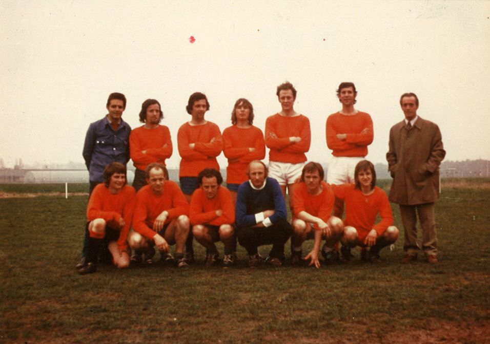 Smit Transformatoren voetbalteam 1973